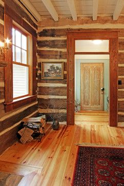 17 Best Images About Concrete Log Cabins On Pinterest