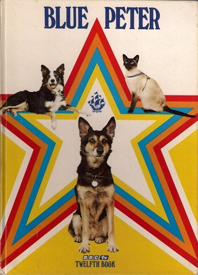 """Blue Peter"" Annual featuring awesome pets, Petra, Shep and Jason"