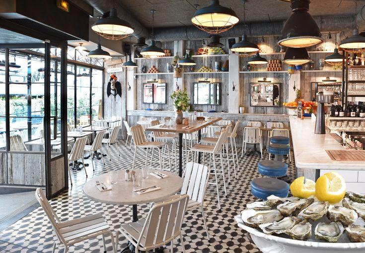 Huguette   bistro de la mer 81, rue de seine   paris #restaurant ...
