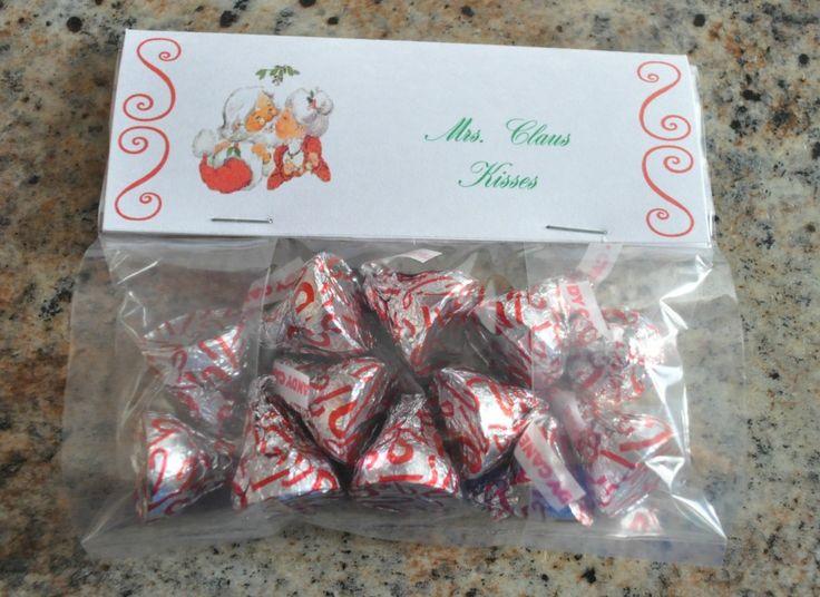 Best 25 Christmas Treat Bags Ideas On Pinterest