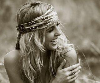 boho hair wrap #peacockshippy #hippy