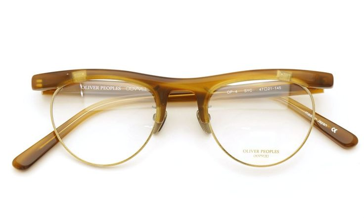 OLIVER PEOPLES [OP-4 SYC]   archive collection   PonMegane