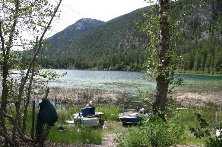 Pavillion Lake, near to Lilloet BC, June 2014