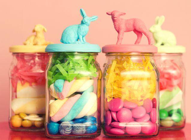 Kleine Ostergeschenke: Kinderleicht zum selbermachen - und osterbunt.