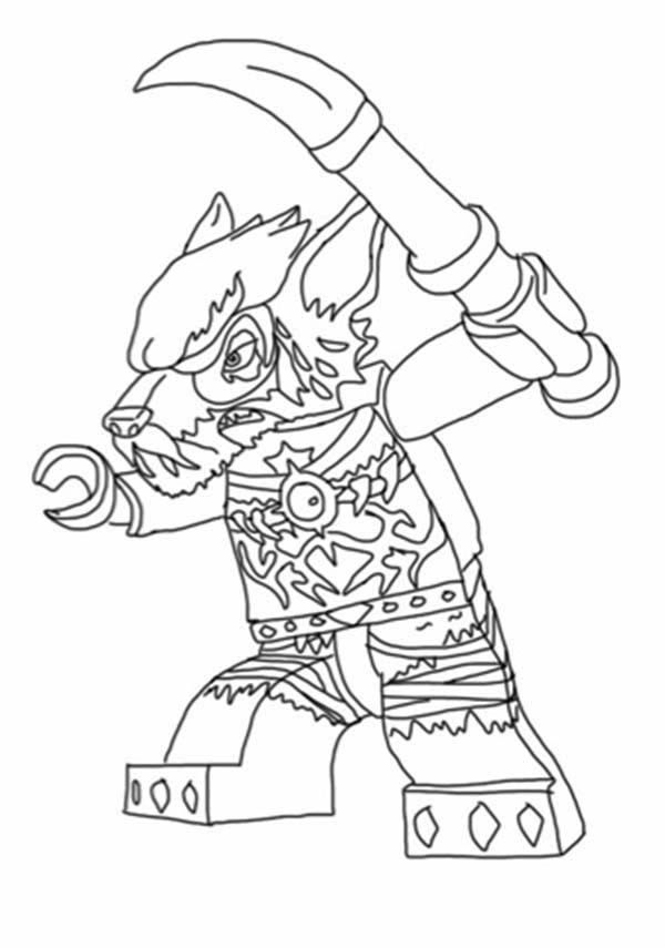 Chima Wolf Coloring Pages Lego Coloring Lego Coloring Pages Coloring Pages