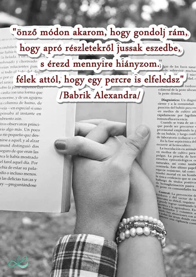 #babrikalexandra  #idézet  #lendületmagazin  #szerelem