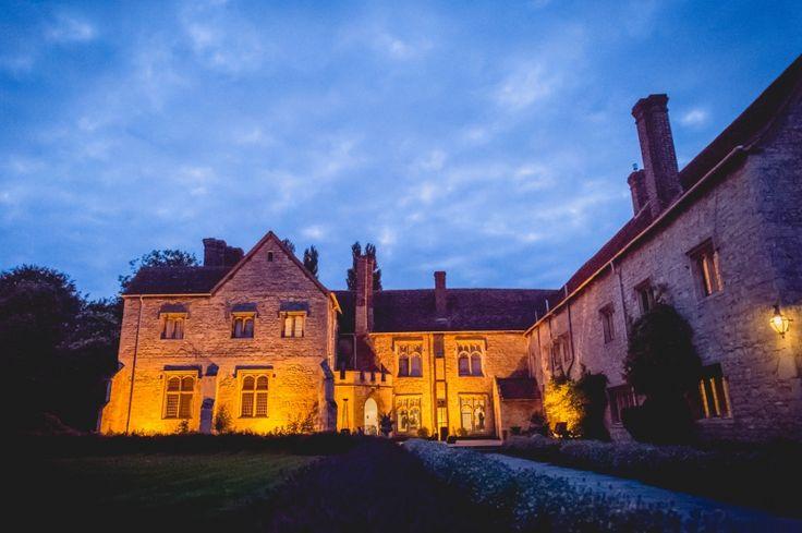 Notley Abbey by Night. Wedding Planner: Vanilla Rose Weddings, Oxford
