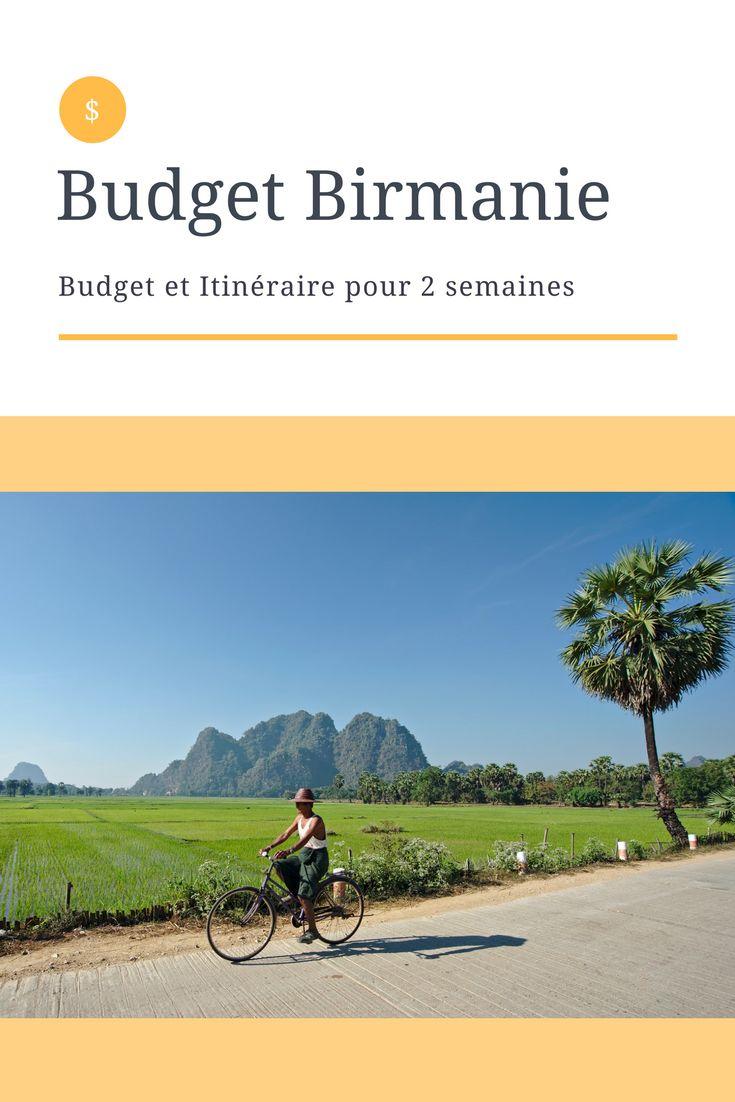 Birmanie - Myanmar: budget et itinéraire de notre voyage de 2 semaines. La meilleure saison pour visiter la Birmanie c'est l'hiver et nous y étions entre janvier et février: tous les budgets pour la haute saison. #birmanie #myanmar #bagan #budget #voyage #tdm #asie