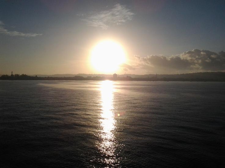 Sunrise at Baia de Todos os Santos