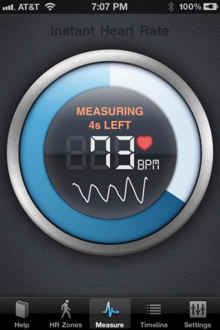 iphone heart rate monitor app