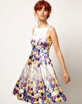 ASOS SALON Floral Midi Prom Dress @Sarah Brownlee this is purrrfect for you. ;) see how even the model is a redhead? (jk)