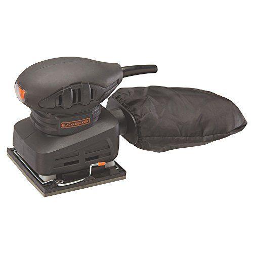 Black & Decker BDEQS15C 1/4 Sheet Sander, 1.5 Amp   Best Power Tools