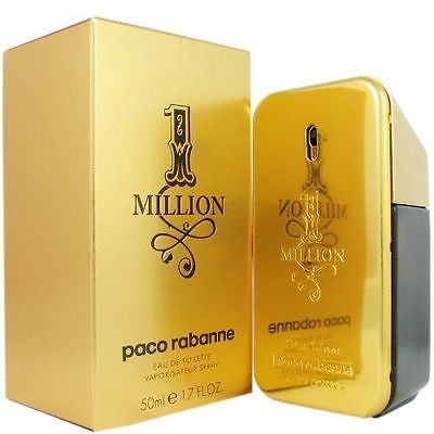 Men Fragrance: 1 One Million * Paco Rabanne * 1.6 1.7 Oz Edt Cologne For Men * New In Box * -> BUY IT NOW ONLY: $36.99 on eBay!
