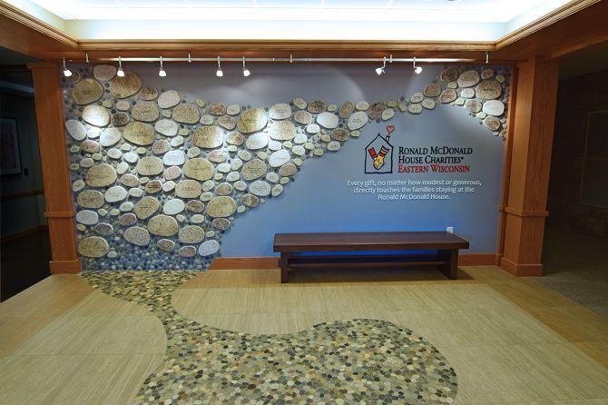 Ronald McDonald Donor Wall - Rebecca Mader / Designer /Art Director