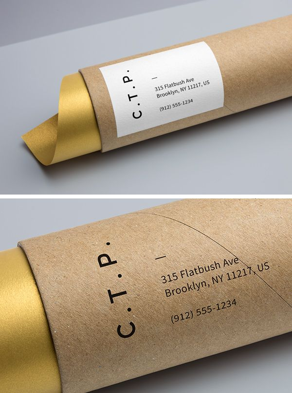 The freebie of the day is a high-resolution cardboard tube mock-up that will help you create a photorealistic presentation...