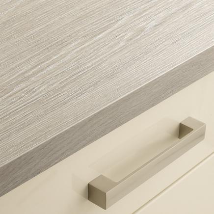 Grey Oak Block Effect Upstand | Kitchen Worktop Upstands | Howdens Joinery