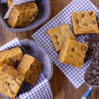 Chocolate Chip Peanut Butter Blondies — David Venable's Recipes — QVC Recipes — Kitchen & Food — QVC.com