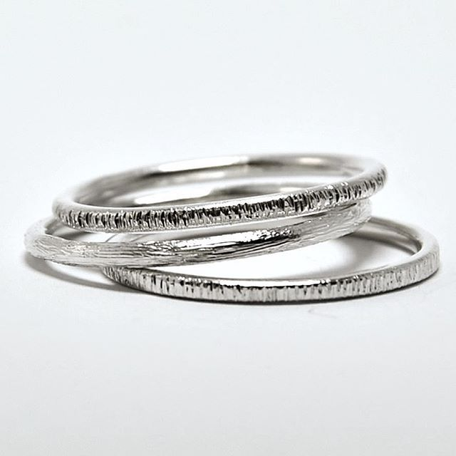 Tree textured stacking rings  Available single or in sets of 3 and 5! Or as many as you want www.thaizjewellery.com Use code TJ20OFF at checkout! . . . . . . . . #stackingrings #silverring #tree #texture #jewelrycollection #jewelrydesign #jewelrysale #handmade #handmadejewelry #textures #stacking #ring #rings #showmeyourrings #jewelrygram #artisanjewelry #handcrafted #handgefertigt #schmuck #schmuckliebe #schmuckdesign #onlinestore #smallshop #slowfashion #greenbrand #anel #aneis #anello ...