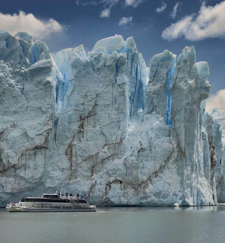 Glaciar Perito Moreno en la Patagonia, Argentina