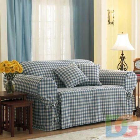 Свободно сидящий чехол на диван