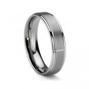 6mm Tungsten Carbide Wedding Ring For Men Or Women