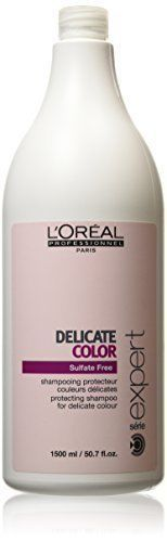 Shampoos and Conditioners: Loreal Delicate Color Sulfate Free Protecting Shampoo 50.7 Oz BUY IT NOW ONLY: $38.99