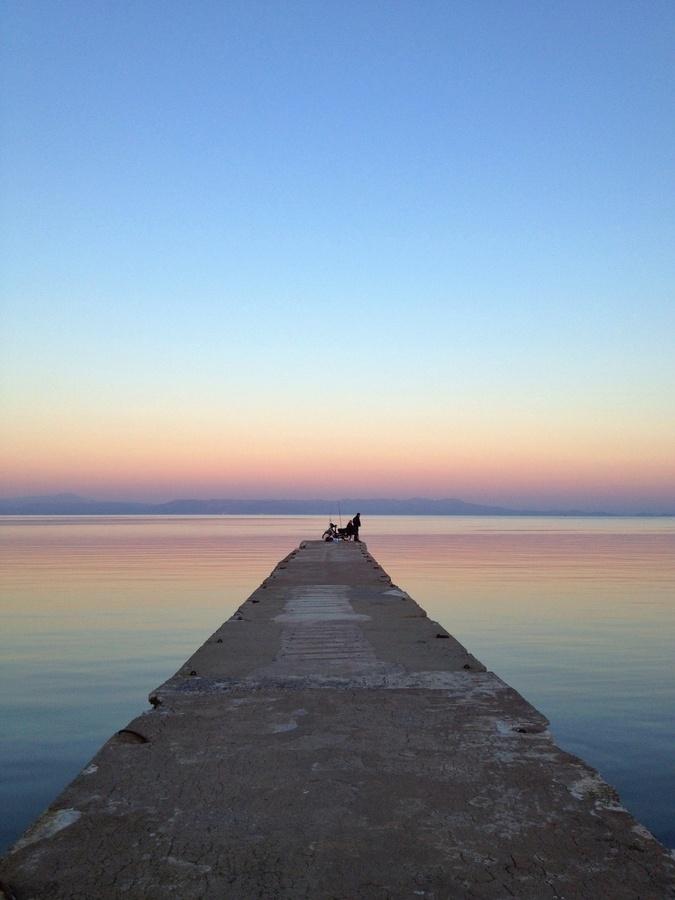 Ready For Fishing, Mitillini, Island Of Lesvos, Greece *