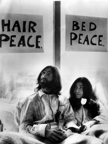 On this day in 1969 John Lennon and Yoko Ono began their 'bed-in' peace demonstration in Amsterdam. As a follow up to this peace demonstration John and Yoko sent acorns to the heads of state in various countries around the world in hopes that they would plant them as a symbol of peace