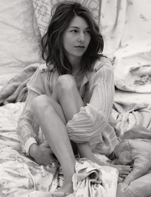 """... Sofia Coppola. American screen-writer, film director, actress, and producer. Enchanted me with movies like """"Lost in translation"""" and """"Somewhere""""."""