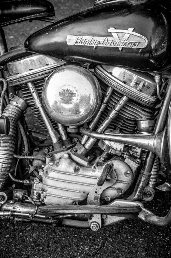 1955 Harley Davidson Motorcycle