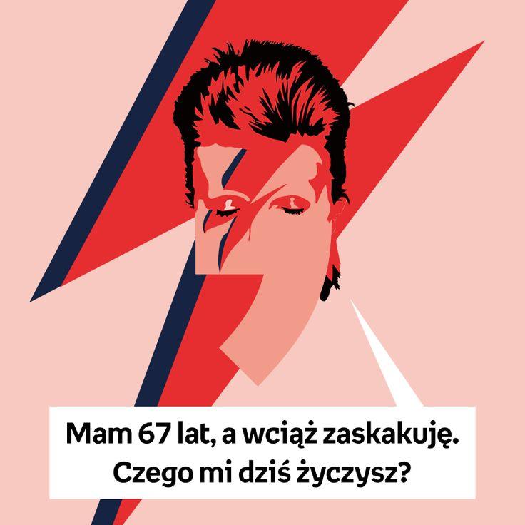 Dziś swoje urodziny obchodzi David Bowie! Wszystkiego Najlepszego! :)