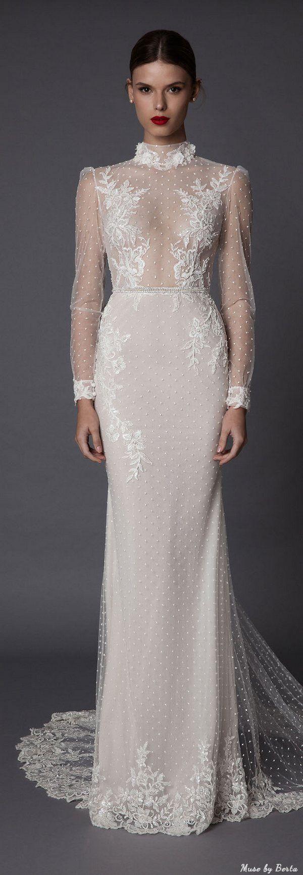 Muse by Berta Wedding Dress AMADEA 2   Deer Pearl Flowers