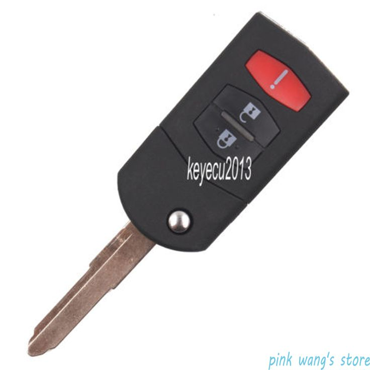 New Stock Keyless Entry Folding Car Shell Remote Control Key Case ...