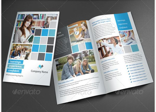 Brosur Sekolah - Modern Education Brochure