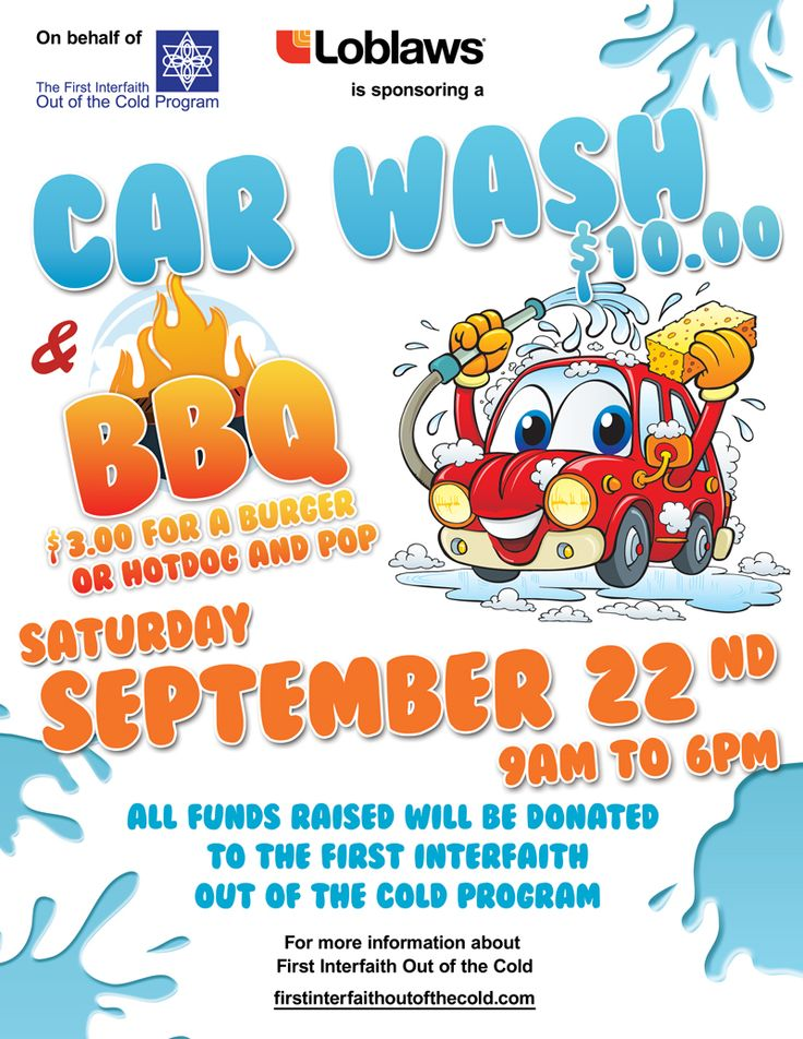 Car Wash Fundraiser Flyer Template Geccetackletartsco - Car wash flyer template free