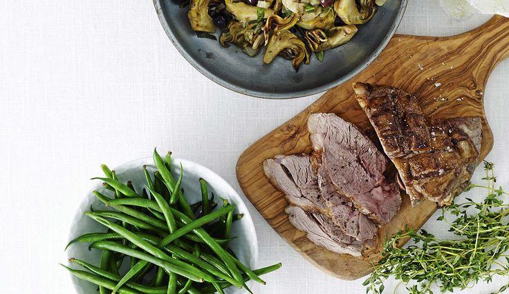 Resepti: Lampaankyljykset ja vihreät pavut