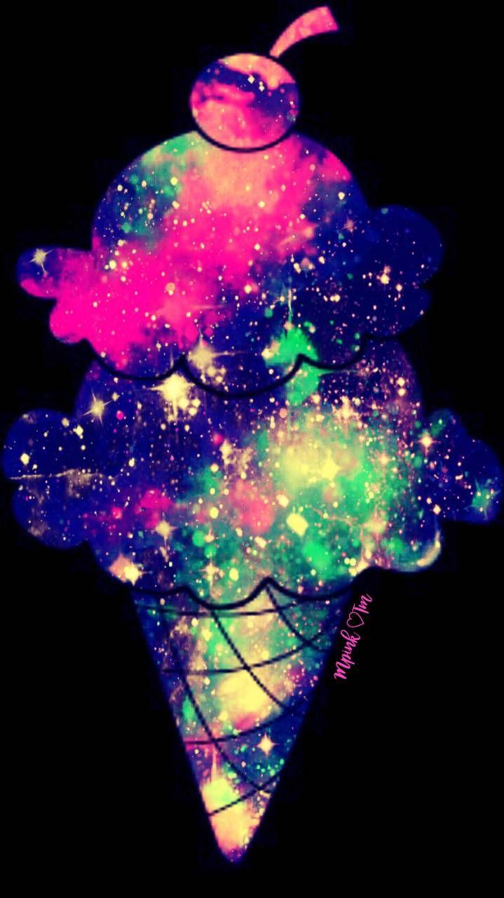 Galaxy Wallpaper Neon