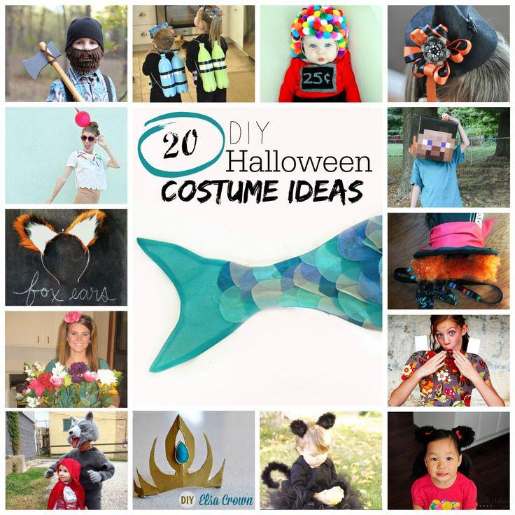 diy halloween costumes 20 creative ideas - Simple Diy Halloween Costume