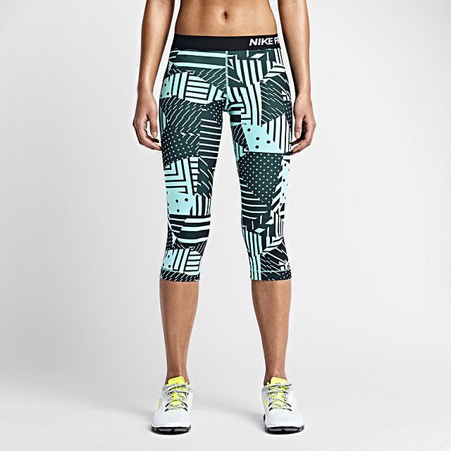 Nike Pro Patchwork Womens Training Capris. Nike Store UK Size S