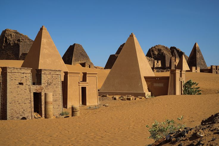 The forgotten pyramids of Sudan - Al Jazeera English  Around 1000 BCE, after the fall of the 24th Egyptian dynasty, the Nubian Kingdom of Kush arose as the leading power in the middle Nile region. The Kushite kings took over and ruled much of Egypt from 712 to 657 BCE. In 300 BCE, when the capital and royal burial ground of the kingdom moved to the Meroe region, the pharaonic tradition of building pyramids to encapsulate the tombs of rulers continued here.