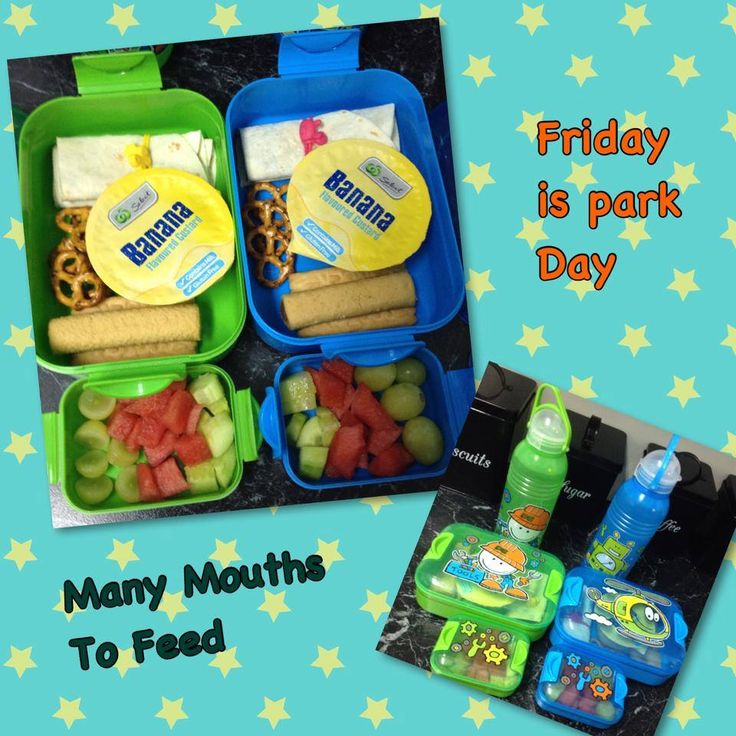 lunches for the little ones in their Décor sets