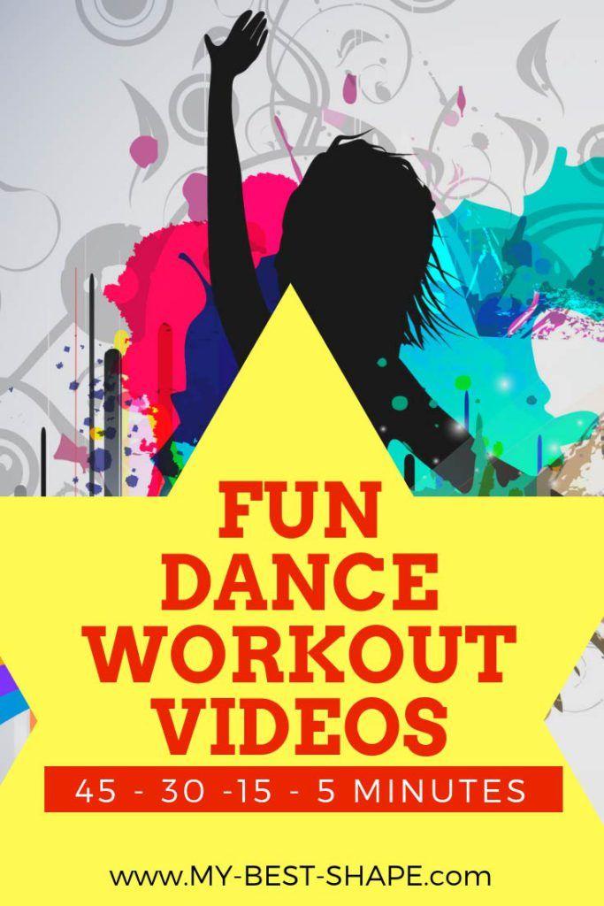 Fun Dance Workout Videos - 45 - 30 -15 - 5 min | Exercise +
