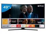 """Smart TV LED 49"""" Samsung 4K/Ultra HD 49MU6300 - Conversor Digital Wi-Fi 3 HDMI 2 USB DLNA"""