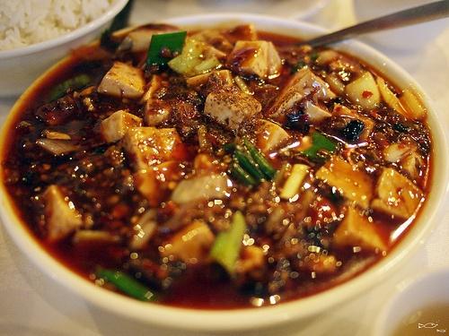 Chinese 麻婆豆腐 mapo tofu (by Big Hugs)