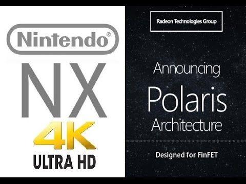 Nintendo NX Home Console To Use AMD Polaris GPU Chip