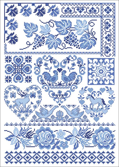 Country Home      No pattern - but I think if I printed this, the outline is big enough to follow...would be really sweet on a teatowel or a pillow, in the centre as a statement..