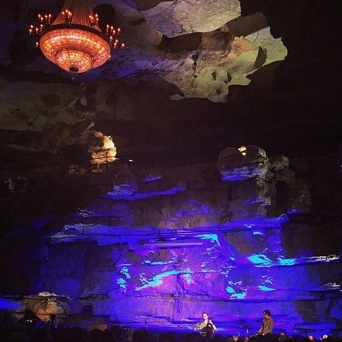 Bluegrass Underground in Cumberland Caverns — McMinnville, Tennessee | 19 Insanely Weird Concert Venues To Visit Before You Die