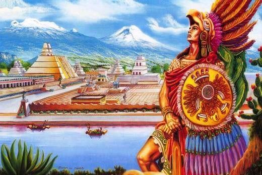 El Estado azteca asume la forma de un Estado de tipo militarista que contrasta claramente con el Estado del período clásico anterior, cuyas características eran teocráticas.