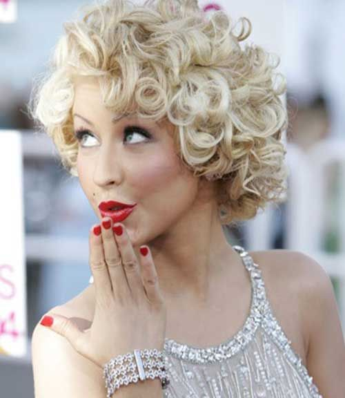 Short Curly Hairstyles (26) - Glamorous Hairstyles