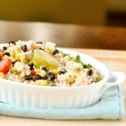 Fiesta Lime Rice | extra foods | Pinterest